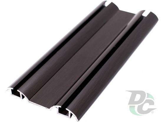 Down rail L-5,5m Black Wood DC OptimaLine