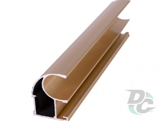 Vertical open profile  L-5,1m Gold  DC OptimaLine