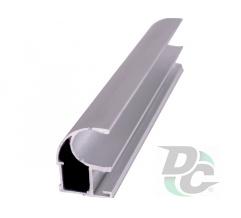 Vertical open profile L-5,2m Silver DC OptimaLine