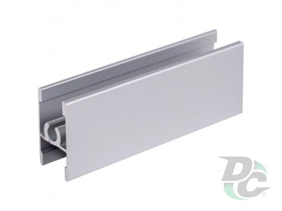 Connecting profile L-5,5m Silver DC StandardLine