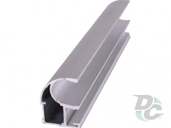 Vertical open profile  L-4,7m Silver DC OptimaLine