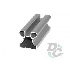 Vertical closed profile L-5.1m Silver DC OptimaLine