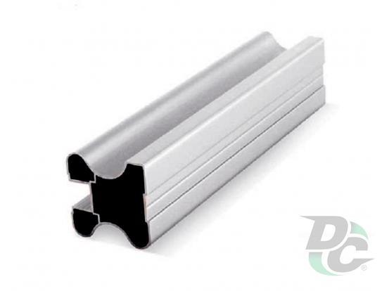 Vertical closed profile L-5,1m Silver DC StandardLine
