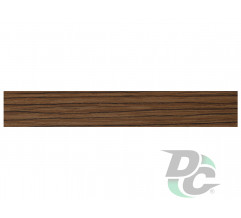 DC PVC edge banding 21/0,6 mm Dark Rhodes Oak 0019SW-RDR