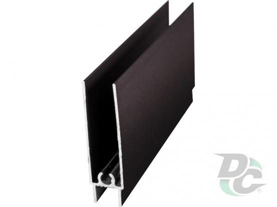 Down horizontal profile L-5,5m Bronze DC OptimaLine