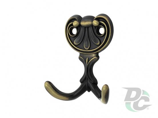 Furniture Furniture hook WR 04 AB Brass DC StandardLine