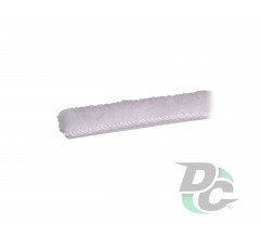 Dustproof adhesive brush for profile White  DC StandardLine
