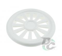 Ventilation cap D-40mm white DC
