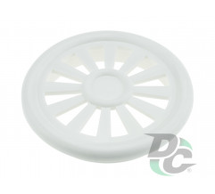 Ventilation cap D-40mm white DC