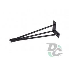 Conic hairpin table leg H-400 Black DC StandardLine