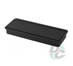 Furniture handle CR 28/96 PBLK Dark Graphite DC StandardLine