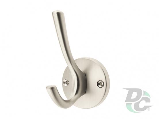 Hook KR 43 MBSN Matte Brush Nickel  DC StandardLine