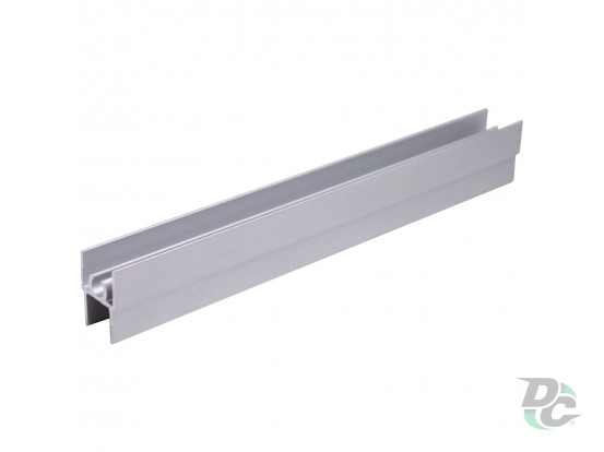 Upper horizontal profile L-5,5m  Silver DC OptimaLine