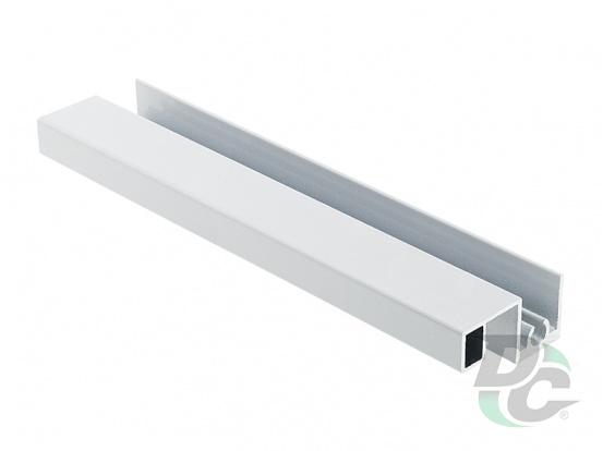 Bavaria upper horizontal profile L-5,5m Gloss White DC ProfiLine
