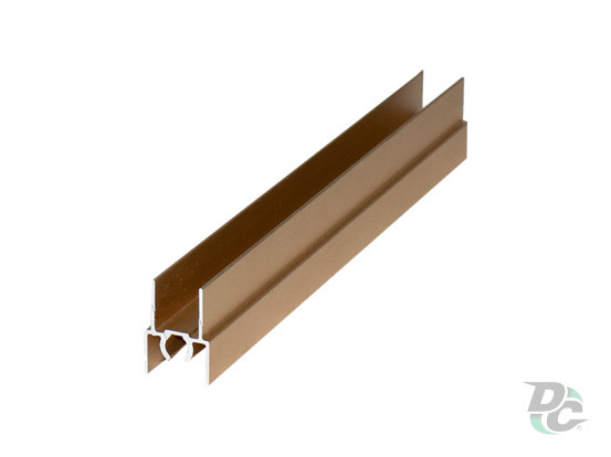 Upper horizontal profile L-5,5m Gold DC OptimaLine