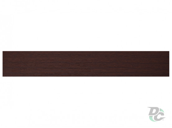DC PVC edge banding 21/0,6 mm Dark Walnut 9450PR