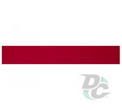DC PVC edge banding 21/0,45 mm Rough Red 0069SW