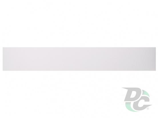 DC PVC edge banding 21/0,6 mm Smooth White K101SM