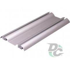 Down rail L-5.5m Silver DC OptimaLine