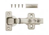 Overlay hinge with gas spring Clip On DC StandardLine