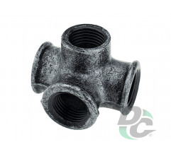 Intermediate mount of four pipes D-19mm Retro DC