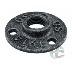 Flange for pipe D-19mm Retro DC