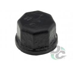Pipe Cap D-19mm Black DC