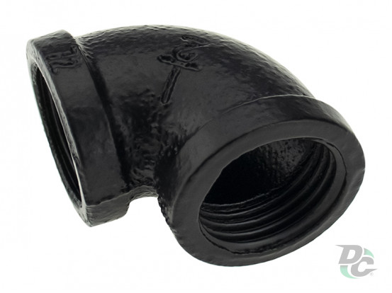 Corner mount for two pipes D-19mm Black DC