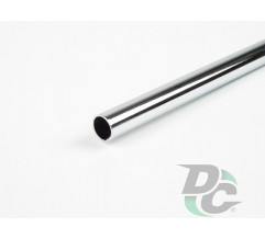 Rail tube L-3000mm Chrome DC OptimaLine