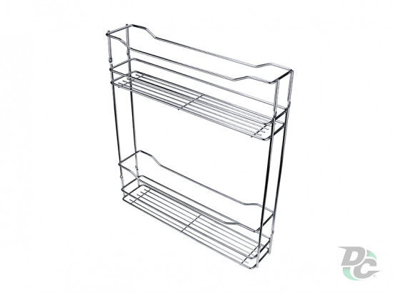 Drawer basket 150/2 Chrome left / right DC