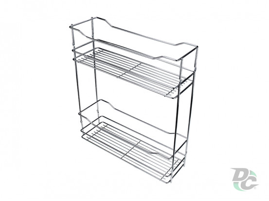 Drawer basket 200/2 Chrome left / right DC