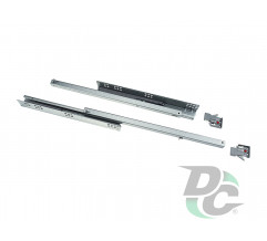 Single extension  Tandem  with soft closing function Clip-on L-500mm 18mm DC PremiumLine