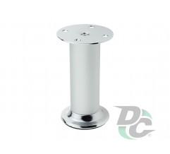 Adjustable furniture leg DA 10/150 AL/G2 Aluminum / Chrome DC EuroLine