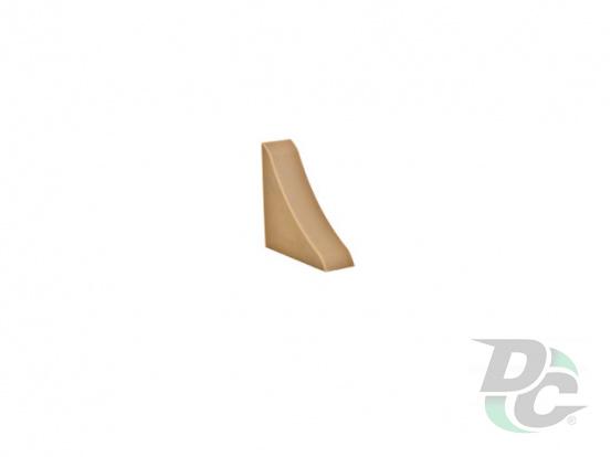 Countertop plinth end  cap DC Zebrano 112