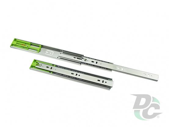 Ball bearing slide Push To Open L-550mm H-45mm DC PremiumLine