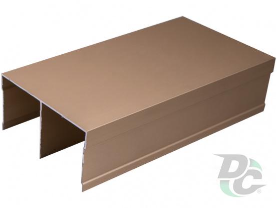Upper rail  L-5,5m Gold  DC OptimaLine