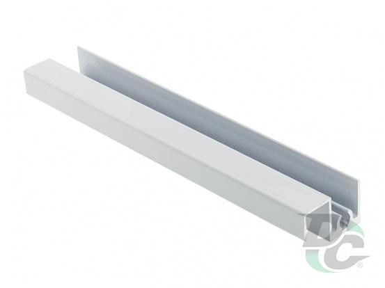 Modena upper horizontal profile Gloss White DC ProfiLine