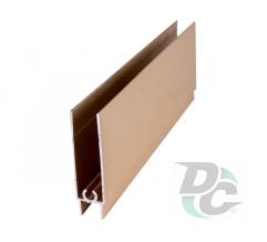 Down horizontal profile L-5,5m Gold DC OptimaLine