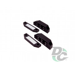 Big  magnet with mounting bar Black